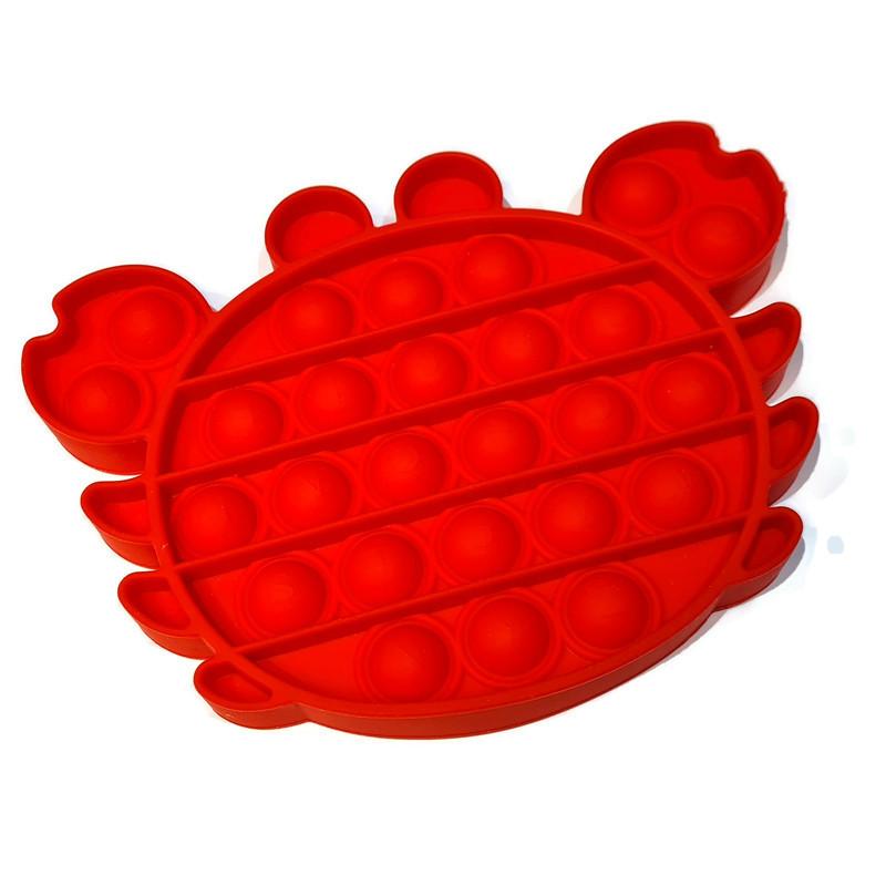 Pop-it Krab rood