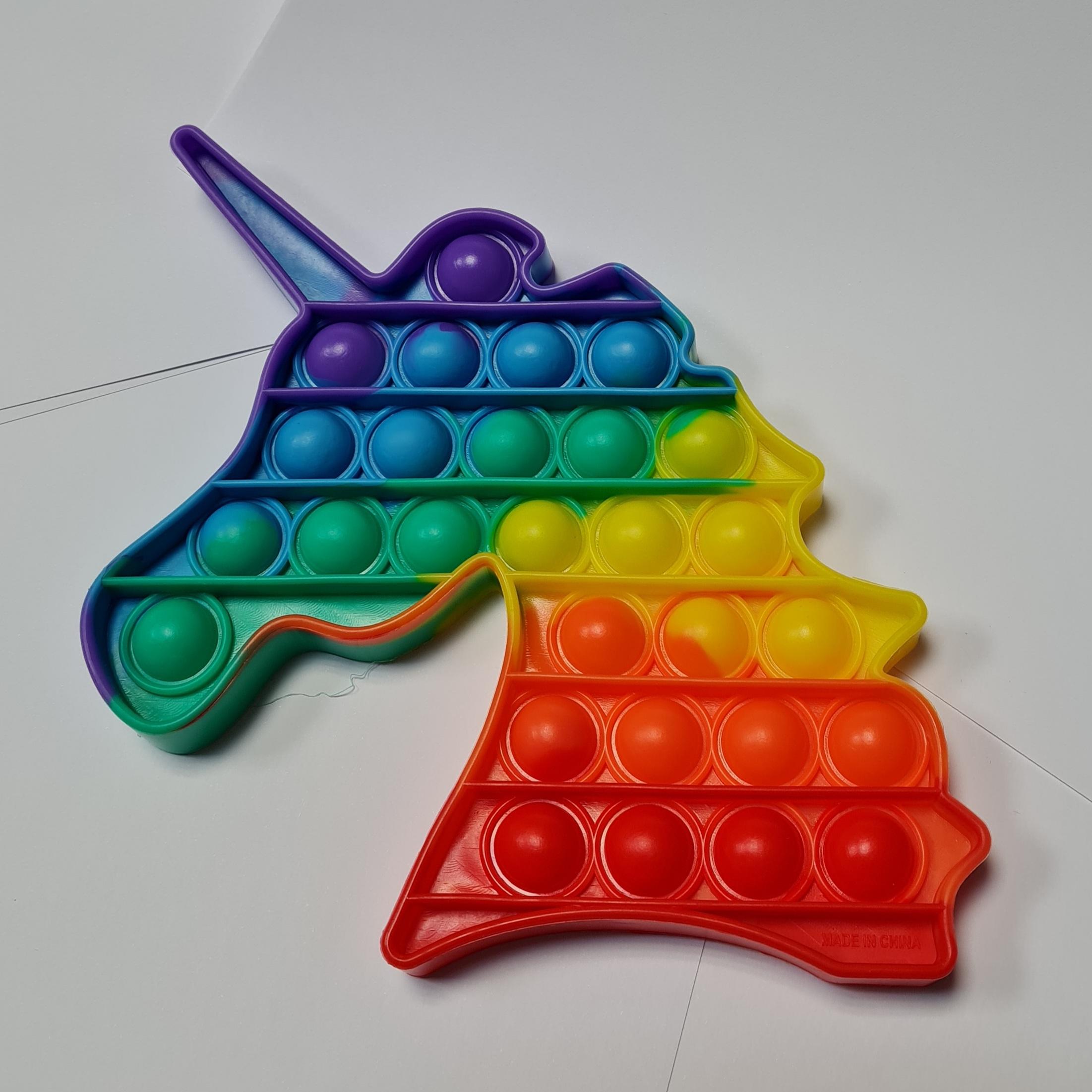 Pop-it XXL unicorn