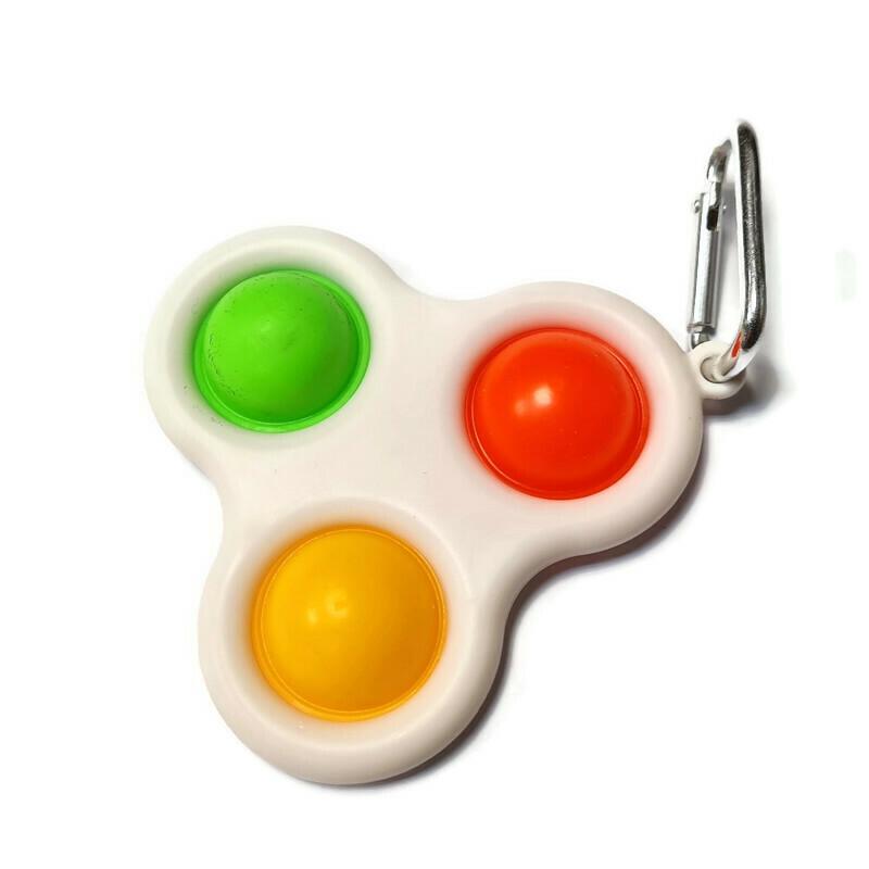 Simple Dimple fidget toy trio