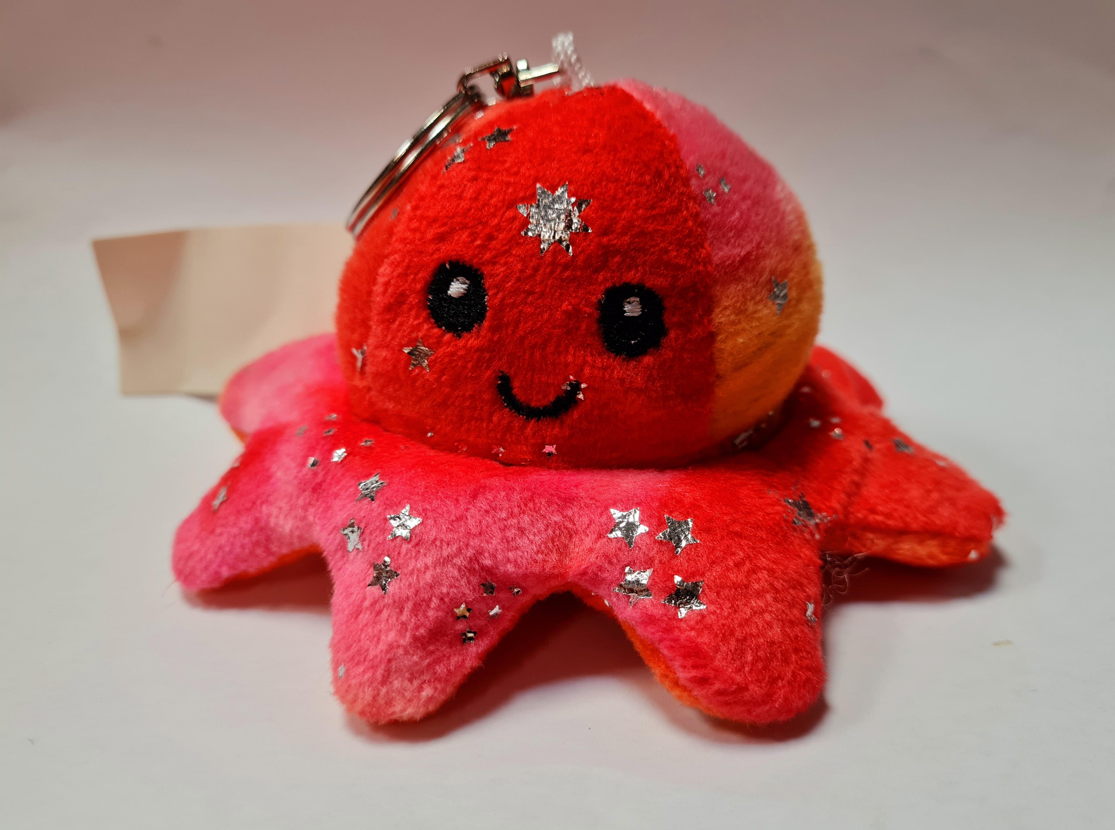 Sleutelhanger Mood Octopus sterren