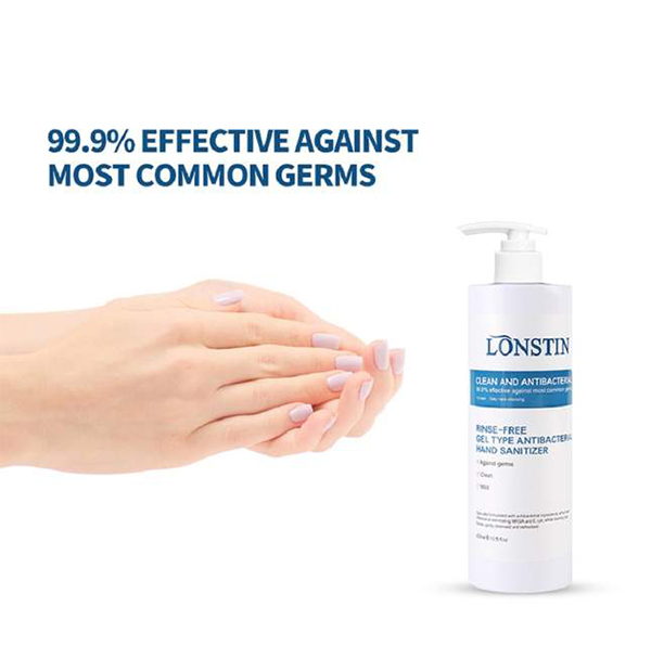 Antibacterial Hand Sanitiser 400ml