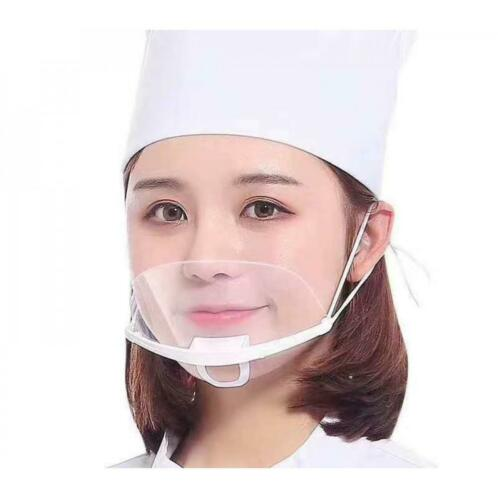 Face shield mask short