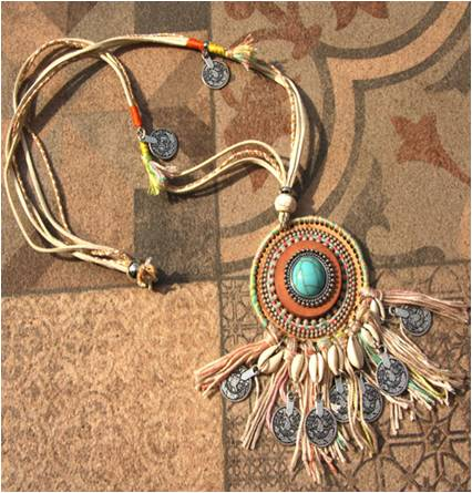 necklace Ibiza Kauri Shell