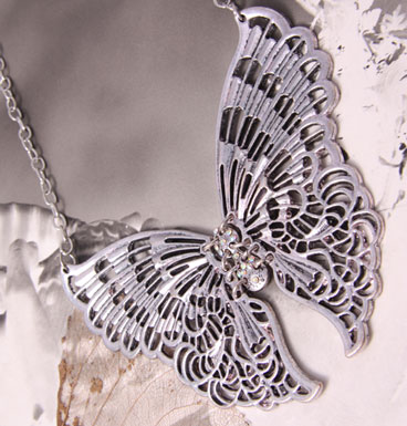 Necklace Big Butterfly