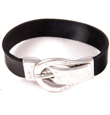 Armband gesp & leer