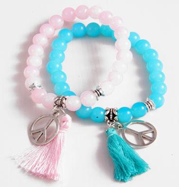 bracelet Tassle & Charm