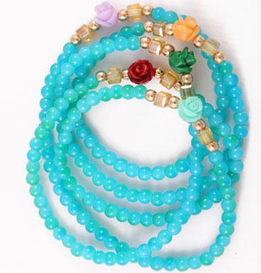 bracelet wrap & roses