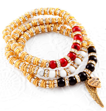 Armbanden Chiq and gold
