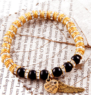 Bracelet Gold and Black MWL