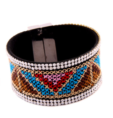 Armband Colorfull Magnet Triangle