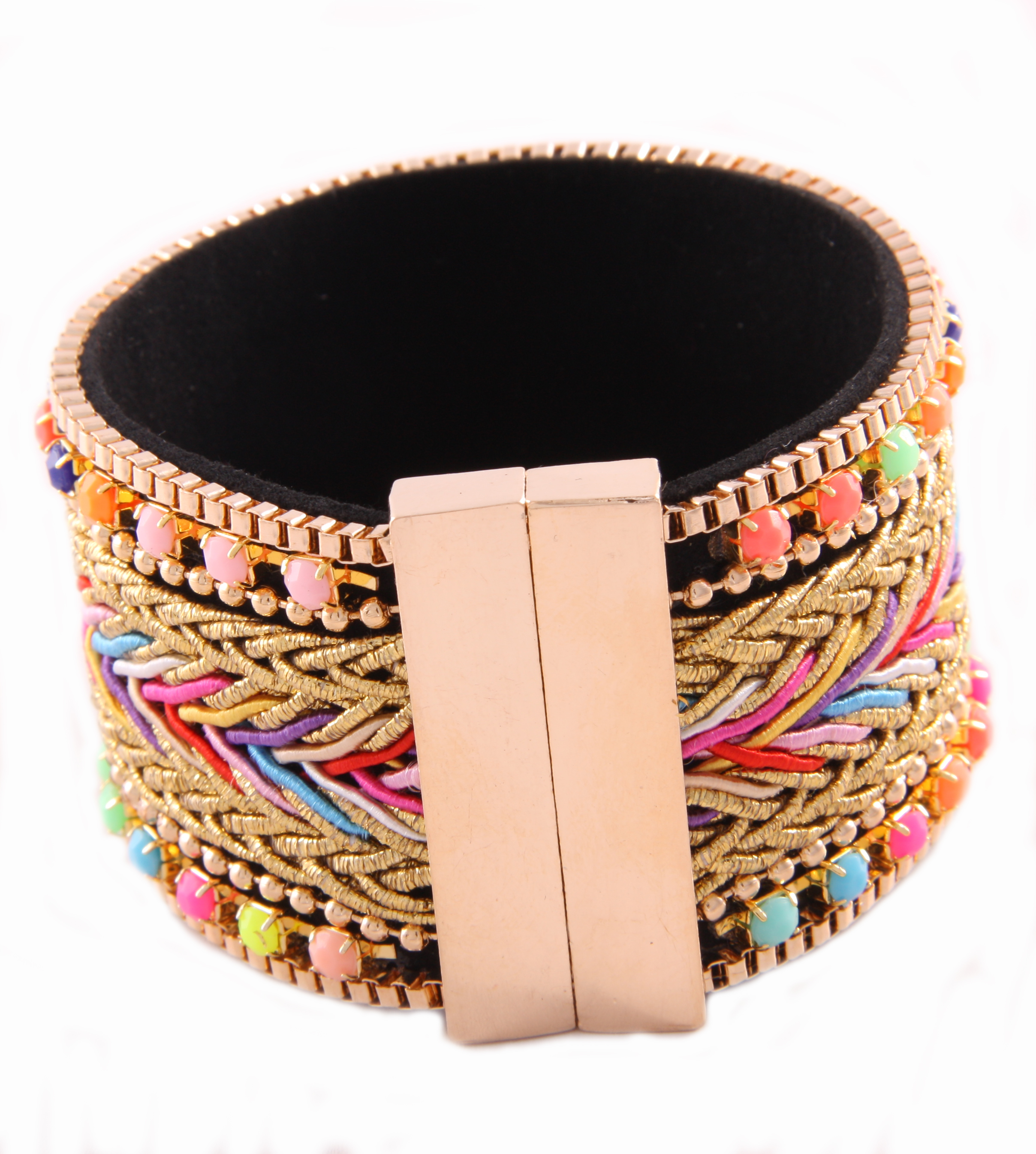 Armband Colorfull Magnet Gold