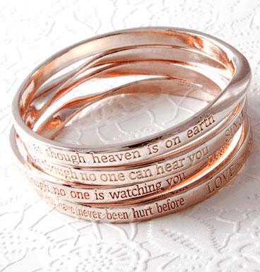 Bracelet Inspriation Message