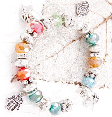 Bracelet Multi color Lucky Hand