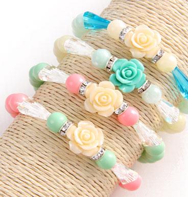 bracelet Romantic Rose