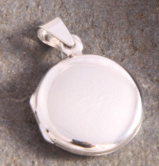 Zilveren Medaillon Circular
