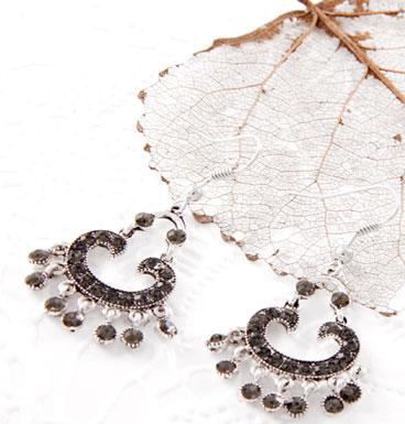Earrings Dangling Markazite