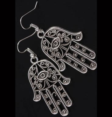 Earrings Fatima's Hands XL