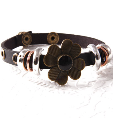 Armband Copper Flower