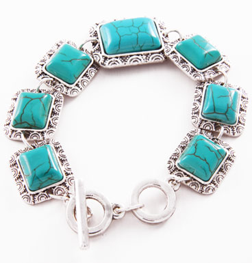 Bracelet Square TQ and Scallop