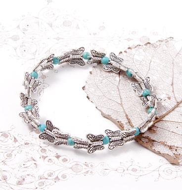 Bracelet Small Butterfly kisses TQ
