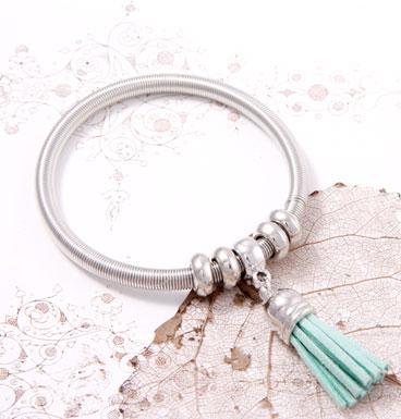 Bracelet Leather Tassle