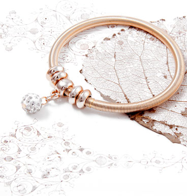 Bracelet Dangling Shamballa Shine