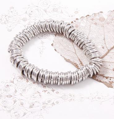 Bracelet Silver Rings