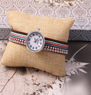 Armband Button Clock