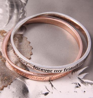 Bracelet Always my mother forever my friend