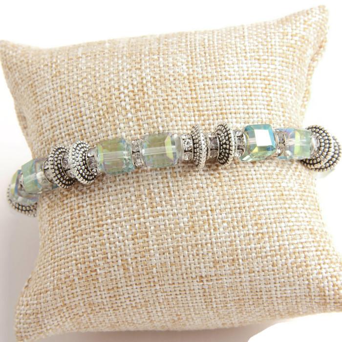 Bracelet Crystal Sea colored