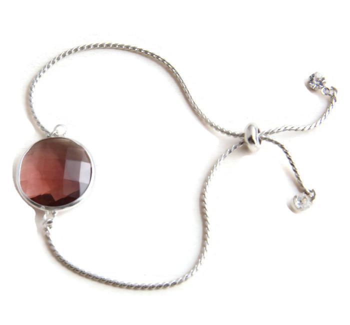 Bracelet pull rope crystal