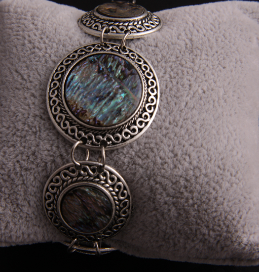 Bracelet Link Mother of Pearl