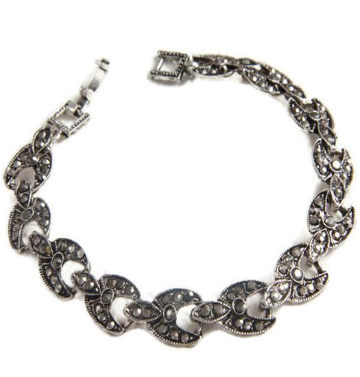 Bracelet marcasite chaines