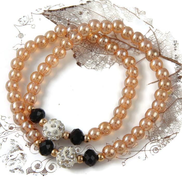 Bracelet/Necklace Shamballa Wrap