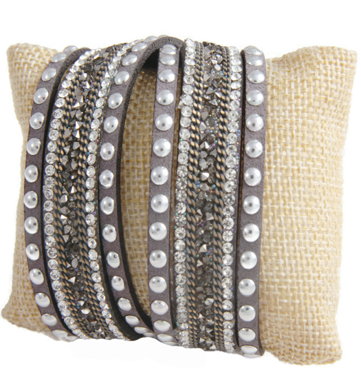 Bracelet Studs and Chain Wrap