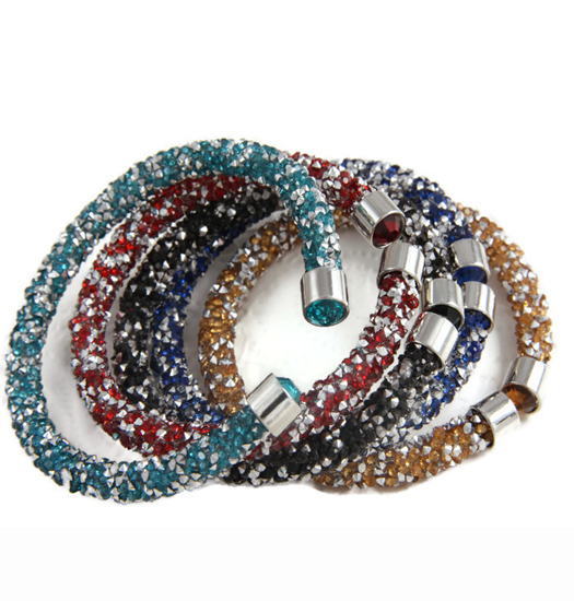 Bracelet Stardust and Crystal Finish