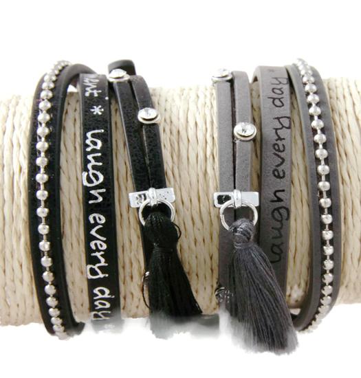Bracelet Message Wrap Moments