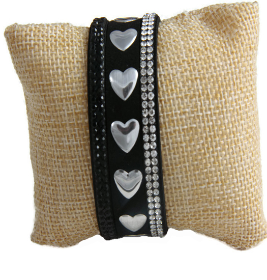 Bracelet Hearts and Strass