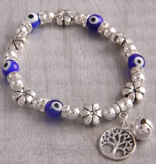 Bracelet Lucky eye and tree of life
