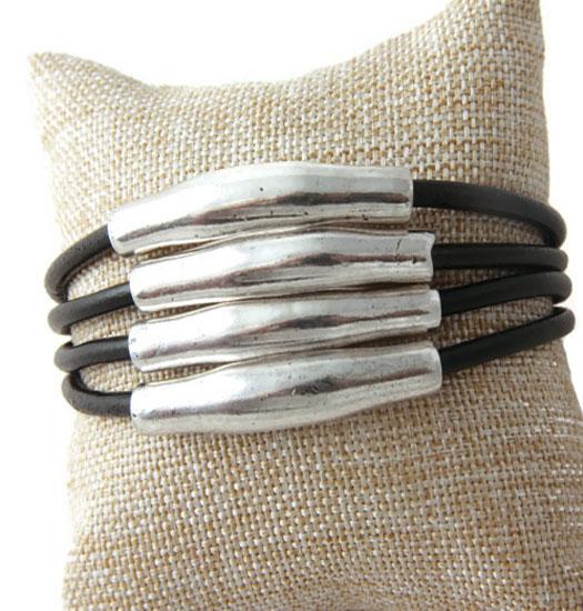Armband Layered Leather