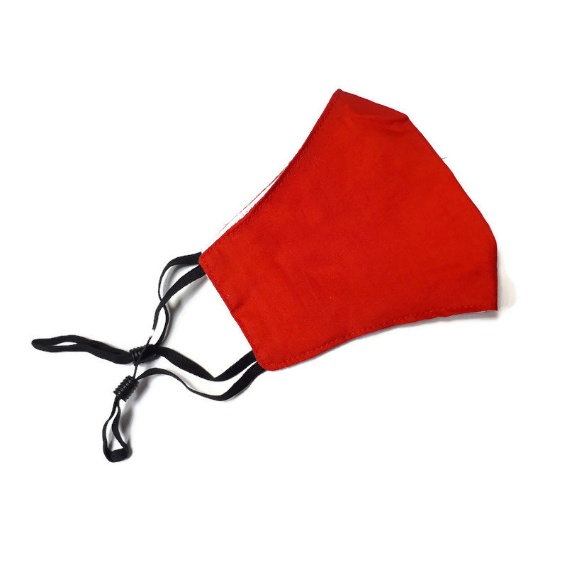 Children's Mask Redish Red