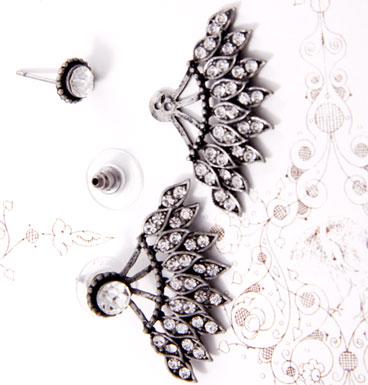 Earrings Lace Diamonds