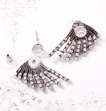 Earrings Falling Star