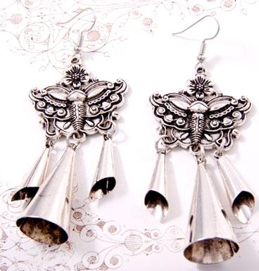 Oorbel Dangling Buttefly