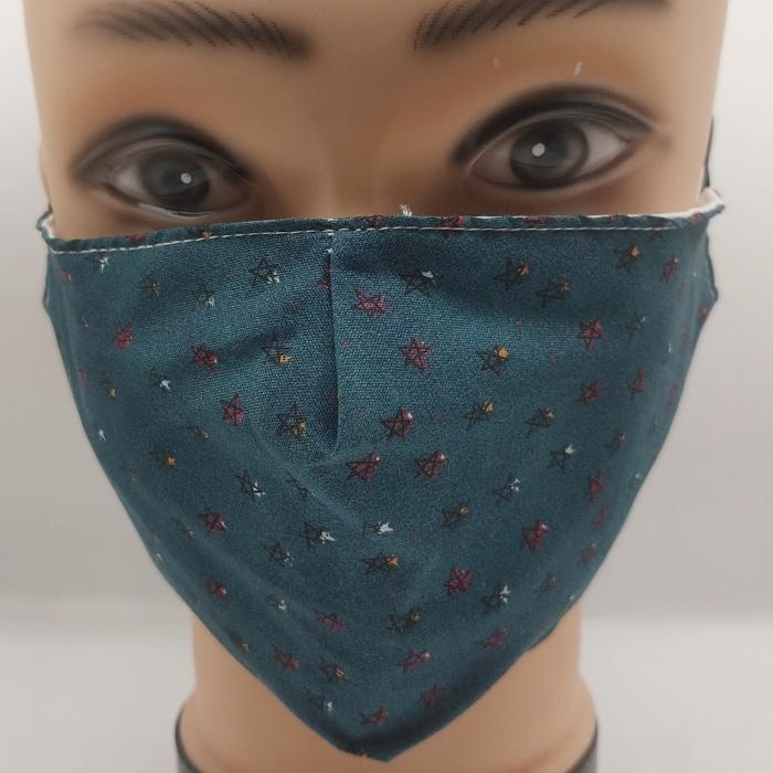 Mask Starry Night blue