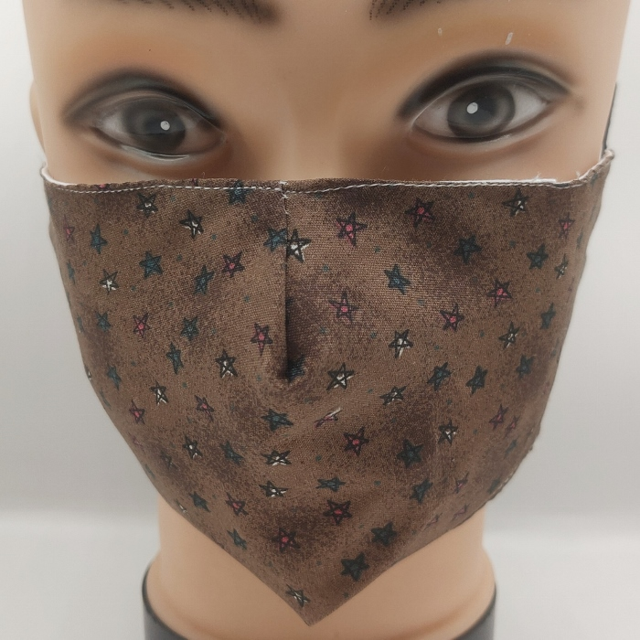 Mask Starry Night Brown