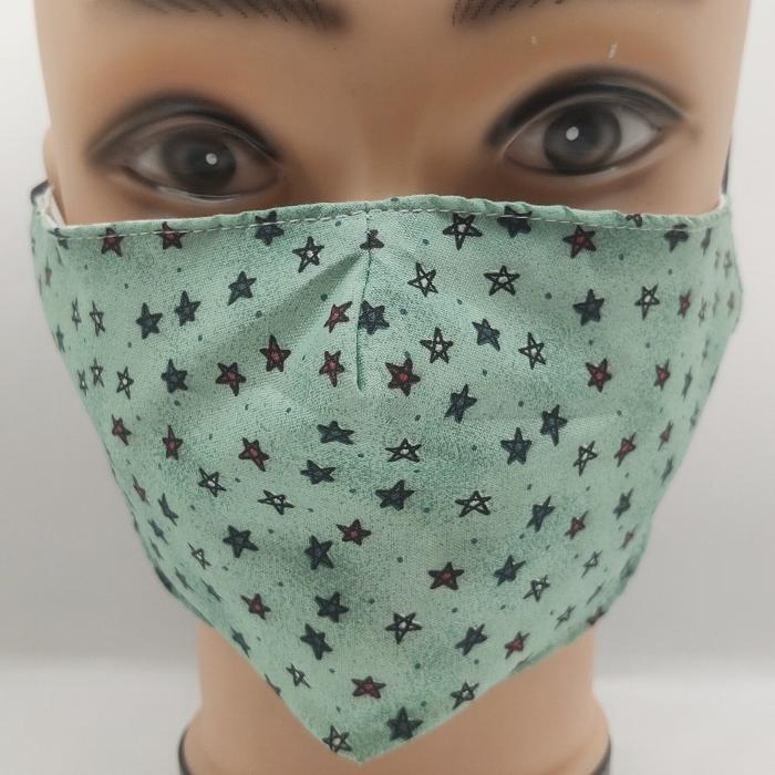 Mask Starry Night green