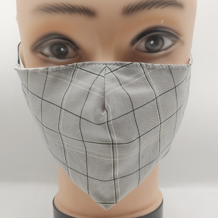 Mask Blocked grey
