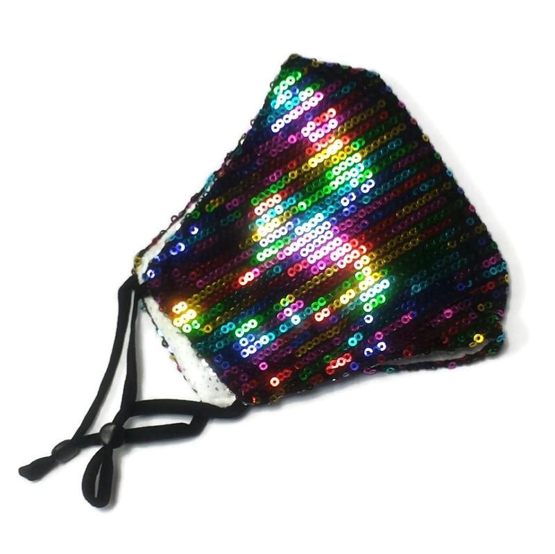 Mask Glamour Rainbow colors