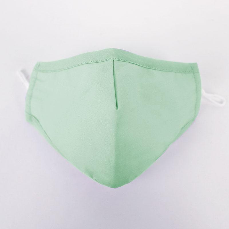 Mask Mint green plain